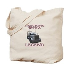 Trucking With A Legend Tote Bag