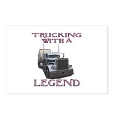Trucking With A Legend Postcards (Package of 8)