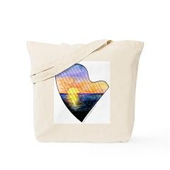 Sunset Strings Tote Bag