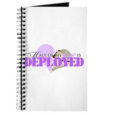 Half of my heart is deployed Journal