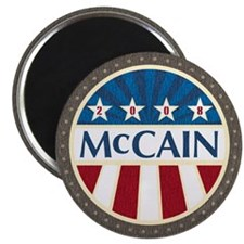 McCain Stars & Stripes Magnet