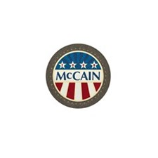 McCain Stars & Stripes Mini Button