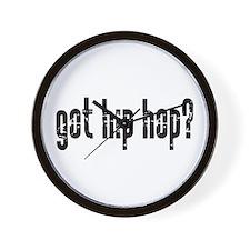 got hip hop? Wall Clock