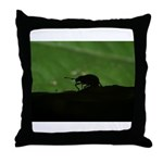 Charles Wright Throw Pillow
