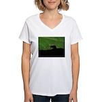 Charles Wright Women's V-Neck T-Shirt