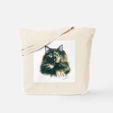 Tortoiseshell Maine Coon Cat Tote Bag