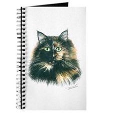 Tortoiseshell Maine Coon Cat Journal