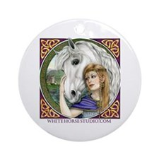 Epona Ornament (Round)