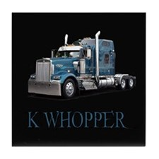K Whopper Tile Coaster