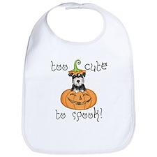 Halloween Miniature Schnauzer Bib