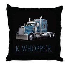 K Whopper Throw Pillow