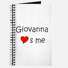 Unique Giovanna Journal