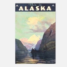 Alaska AK Postcards (Package of 8)