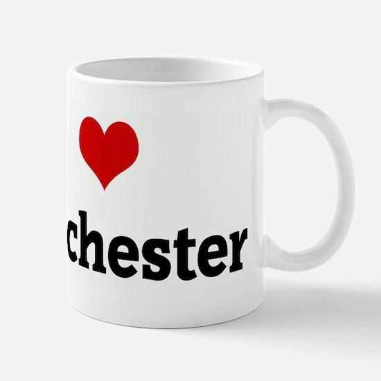 I Love manchester Mug
