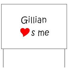 Cute Gillian Yard Sign