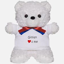 Cute Gillian Teddy Bear