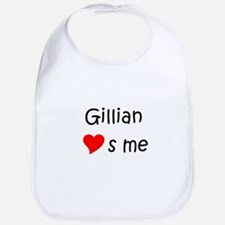 Cute Gillian Bib