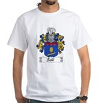 Baldi Family Crest White T-Shirt