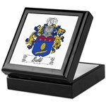 Baldi Family Crest Keepsake Box