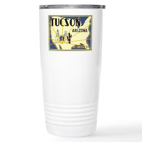 Tucson Arizona AZ Stainless Steel Travel Mug