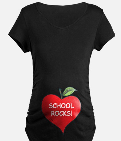 Heart Apple School Rocks T-Shirt