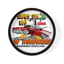 Unique Woodward Wall Clock