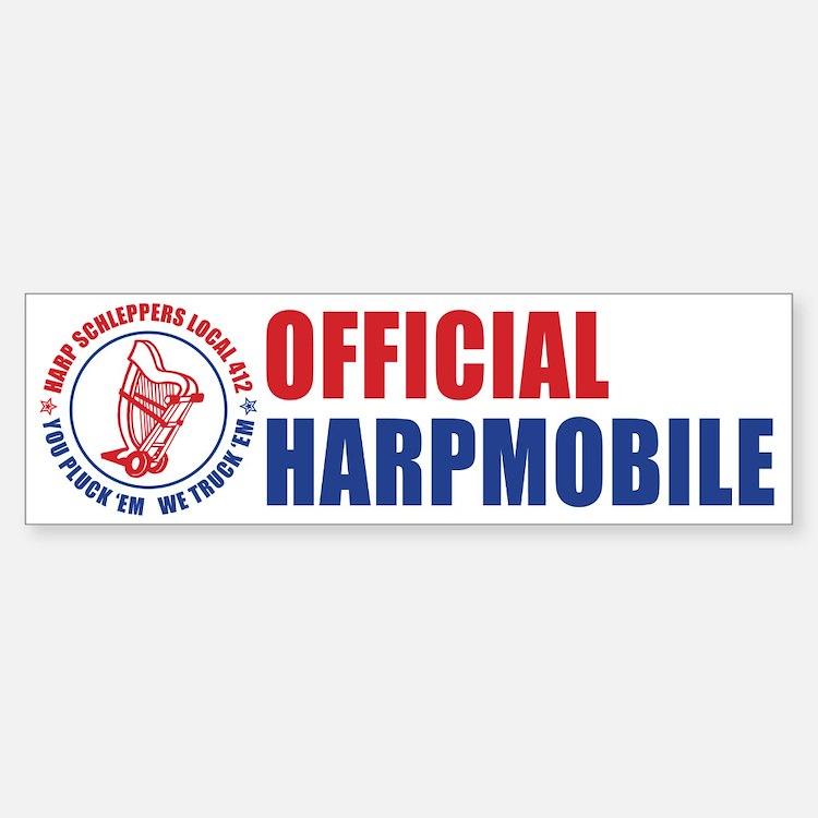 Harp Schleppers Local 412 Bumper Bumper Bumper Sticker