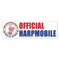 Harp Schleppers Local 412 Bumper Bumper Sticker