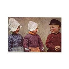 Volendam Holland Rectangle Magnet (10 pack)