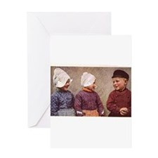Volendam Holland Greeting Card