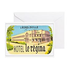 Kinshasa Congo Greeting Card
