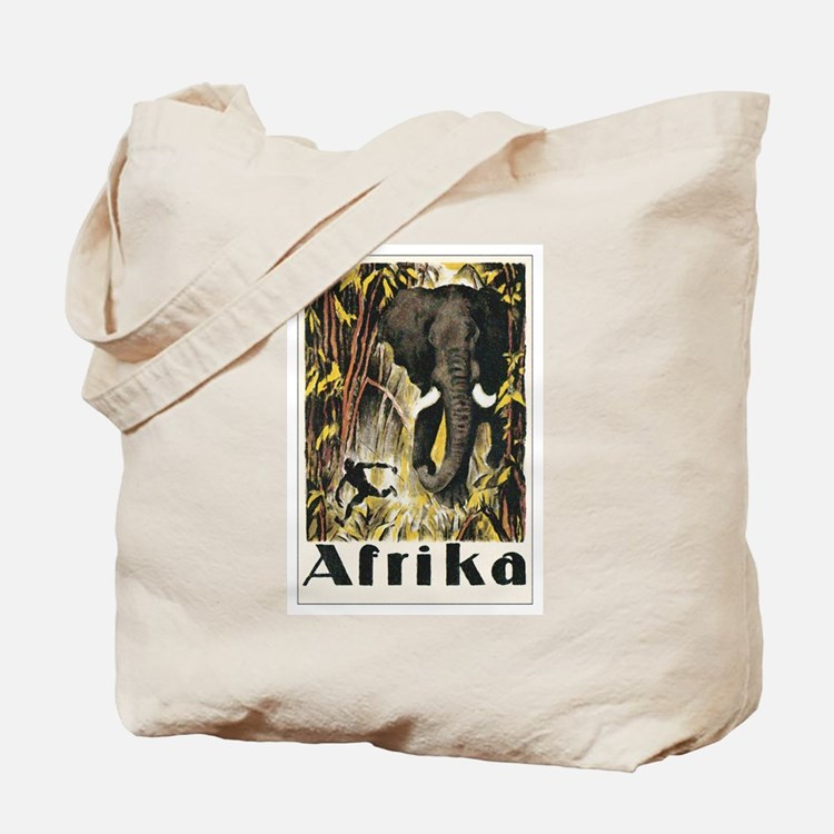Africa Elephant Tote Bag