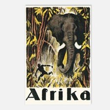 Africa Elephant Postcards (Package of 8)