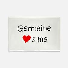 Unique Germaine Rectangle Magnet