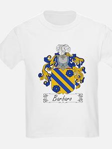 Barbaro Family Crest Kids T-Shirt