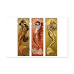 Mermaids Nouveau Mini Poster Print
