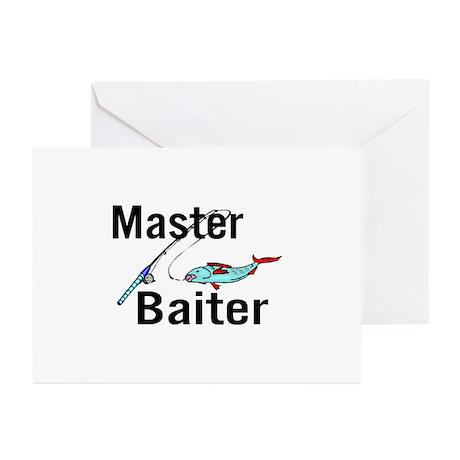 Master Baiter Greeting Cards (Pk of 20)