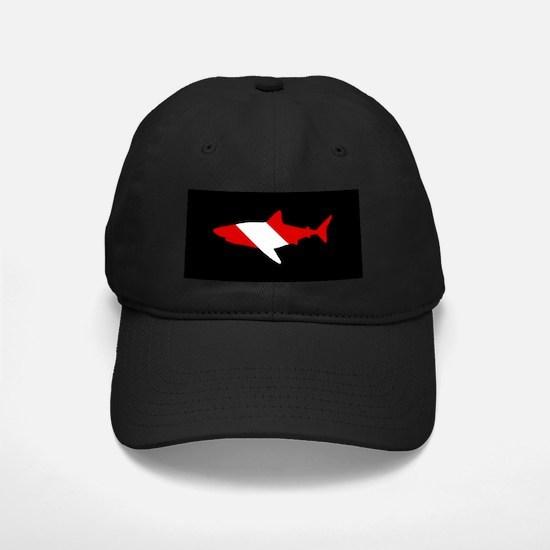 Diving Flag: Shark Baseball Hat