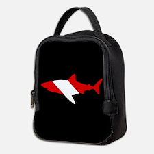 Diving Flag: Shark Neoprene Lunch Bag