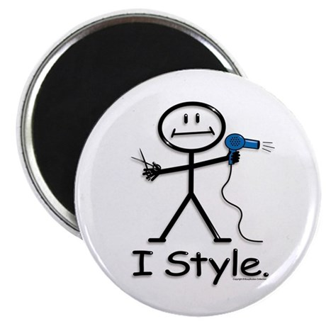 """BusyBodies Hairstylist 2.25"""" Magnet (10 pack)"""