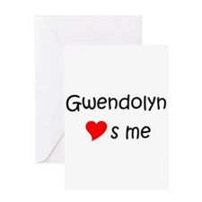 Gwendolyn Greeting Card