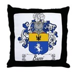 Bassi Family Crest Throw Pillow