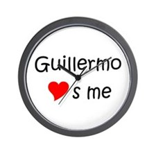 Cute Guillermo Wall Clock