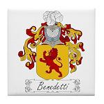 Benedetti Family Crest Tile Coaster