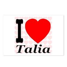 I (Heart) Talia Postcards (Package of 8)