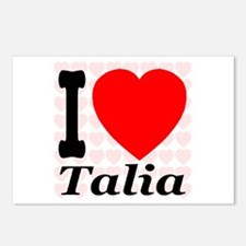 I (Heart) Talia Postcards (Package of 8)
