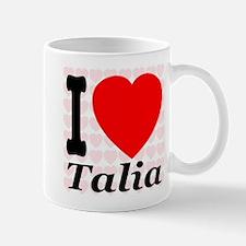 I (Heart) Talia Mug