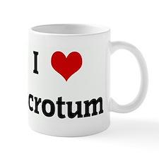 I Love scrotum Mug