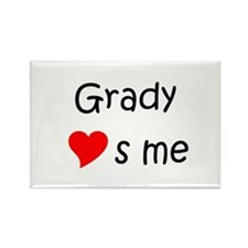 Funny Grady Rectangle Magnet