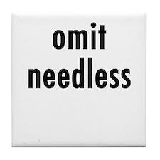 Omit needless Tile Coaster